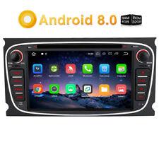 RAM 4GB GPS Navigation Android 8.0 DVD Autoradio 4G für Ford Mondeo Focus S-MAX