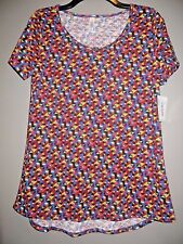 Clearance!! PRETTY NWT Lularoe Classic T Geometric Print Multi Color size SMALL