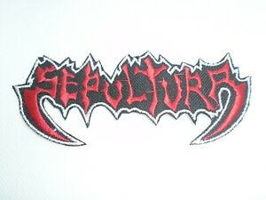 SEPULTURA IRON ON EMBROIDERED PATCH
