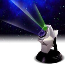Laser Twilight Projector Astronomy Night Light Sky Star Show Auto Shut Off Lamp