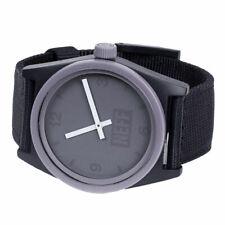 Neff Men's Daily Watch Purple Black Woven Timepiece Casual