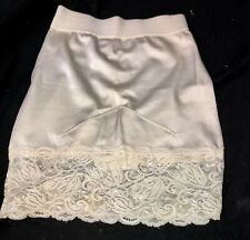 Vintage Vanity Fair Satin Panty Slip Shaper #40-194, Beige Size L Ivory Shimmer