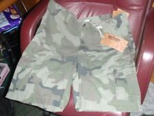 NEW Mens Urban Pipeline Green Camo Camouflage Cargo Shorts SZ 40