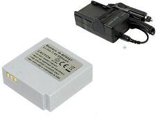 Battery + Charger For Samsung SC-MX10 SC-MX10/XAA MX10A SCMX10P SCMX10R SCMX20