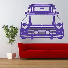 VINTAGE MINI COOPER CAR Wall Art sticker vehicle room decal