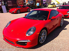 5 Litres Cellulose Porsche Guards Red Car Paint Cell Celly High Gloss ON OWN