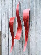 Abstract metal art  Red Sculpture Home Decor art Holly Lentz