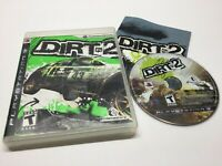 Dirt 2 (Sony PlayStation 3, 2009) PS3 Racing Game Complete w/ Manual CIB TESTED