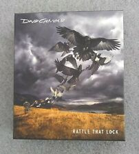DAVID GILMOUR Rattle That Lock CD/Blu-ray Deluxe Boxset