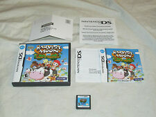 Harvest Moon DS: Island of Happiness COMPLETE w/ REG CARD Nintendo DS FREE SHIP