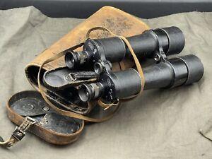 Kaiserliche Marine Artillerie Fernglas Carl Zeiss D.F. 12x50 M Art. Binoculars