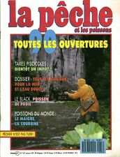 Revue  La pêche et les poissons No 537 Février 90