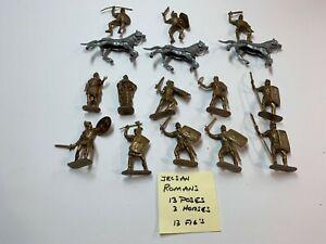 Reamsa, Jecsan Roman legion, Cavalry, with Caesar, 11 poses,13 fig's 3 horses