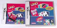 Jeu: uno + ship-BO + uno Freefall 3 en 1 pour Nintendo DS + Lite + DSI + 3ds