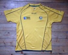 "AUSTRALIA ""THE WALLABIES"" RUGBY WORLD CUP 2011 RUGBY UNION SHIRT / JERSEY - XL"