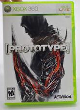 Prototype Microsoft Xbox 360 2009 Vidéo Jeu Complet en Boîte Cib Activision