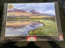 New 2007 Educa 3000 Piece Kingdom of Mountains Rodney Lough Jr 19x13x3 5lbs