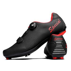 Men's Road Cycling Shoes Self-Locking Racing Bike Shoes Bicycle Racing Sneakers