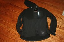 Men'S Nike Dri-Fit Sphere Running Dri Fit Pullover New 519787 010 Medium Black