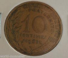 10 centimes marianne 1965 : TB : pièce de monnaie française