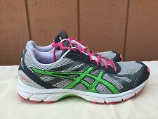 EUC Women's Asics Gel-Fuji Racer T268N 9670 Trail Running Shoes US Sz 9 EU 40.5