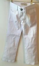No Fuze Girls' Jeans. White. Size 7. New with tags
