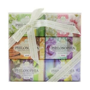 NEW Nesti Dante Philosophia The Collection Soap Set: (Lift + Breeze + Detox 6x