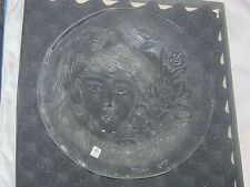 CRYSTAL MAIDENS ORIGINAL PLATE THE SNOWFLAKE SEASON WITH CERT. 1895/2500 ISSUED