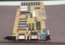 Vintage VIDEO CARD ISA 16 Bit Card IEW OAK VGA-16