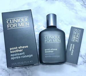 Clinique For Men Post Shave Soother NIB Full Size 2.5oz / 75ml