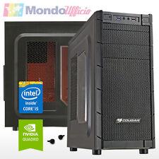 PC Computer WORKSTATION Intel i5 7400 - Ram 8 GB DDR4 - HD 1 TB - Quadro K620