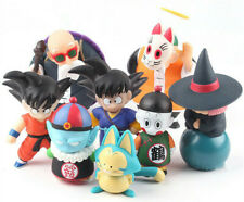 4Pcs Dragon Ball Z Son Goku Gohan Uranai Master Roshi PVC Figure Toy Kids Gift