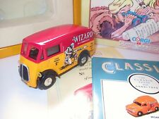 """Morris J Type """"THE WIZZARD / Wolf of Kabul / D. C. Thomson"""" Corgi in 1:43 boxed!"""