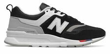 New Balance Women's 997H Shoes Black with Red & White