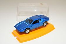 + POLITOYS M19 M 19 PANTERA GT DE TOMASO METALLIC BLUE NEAR MINT BOXED