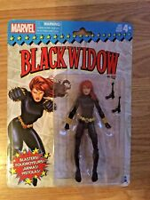 MARVEL LEGENDS BLACK WIDOW FIGURE MARVEL LEGENDS RETRO BLACK WIDOW MOC