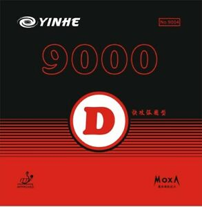 Table Tennis Rubbers Yinhe Galaxy 9000D Pips-In ITTF Approved from UK stock