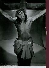 CINEMA PHOTOGRAPHIE ORIGINALE de Roger FORSTER tournage film Christ
