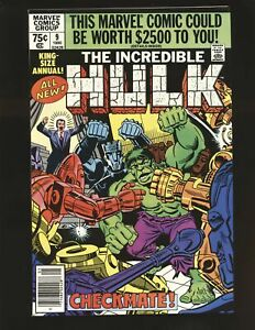 Incredible Hulk Annual # 9 - Steve Ditko art VF/NM Cond.