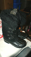 Womens KHOMBU Nordic Winter Snow Boots Size 6M Water Proof