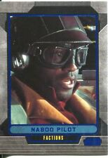 Star Wars Galactic Files Blue Parallel #320 Naboo Pilot