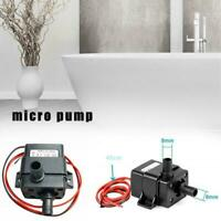 Submersible Water Pump For Aquarium Fish Tank Water Optional 240L/H Feature M8I0