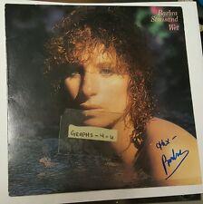 Barbra Streisand Signed Autograph COA