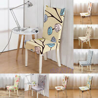 Stretch Chair Cover Decor Home Dining Room Protector Wedding Banquet Seat Slip