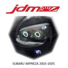 Subaru Impreza WRX STI Eyebrows Eyelids Eyeline Headlight Cover 2003-2005 2 pcs