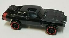 Hot Wheels '70 Dodge Charger Black Loose Car Malaysia Base