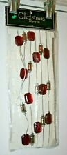 The Christmas Shoppe 2007 Brother & Sisters Design Studio 9' Large Bead Garland