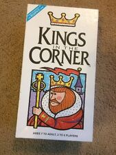 Kings In The Corner Board Game Jax Ltd 1996 Makers Of Sequence