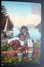 Eskimo Woman And Child