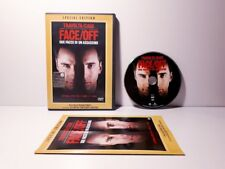 DVD film FACE/OFF DUE FACCE DI UN ASSASSINO no vhs Nicolas Cage SPECIAL EDITION